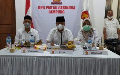 Suara Gerindra Lampung Bulat Dorong Prabowo Kembali Jabat Ketum Gerindra